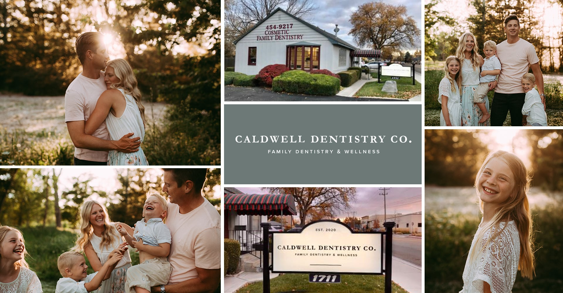 Collage of Caldwell Dentistry Co with our dentist in Caldwell, ID